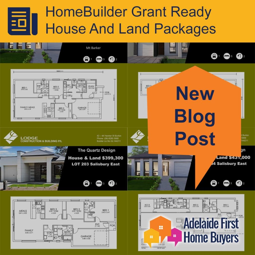 HomeBuilder Ready House And Land Packages